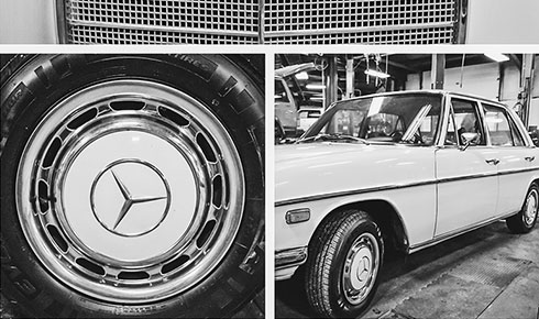 Benz Repair | The Hamburg Garage